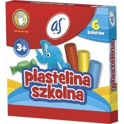 Plastelina szkolna AS 6...