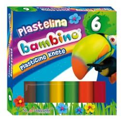 Plastelina BAMBINO 6 kolorów