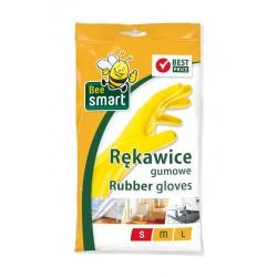 Rękawice gumowe BEE SMART S