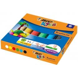 Plastelina BIC 6 kolorów