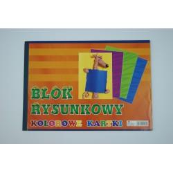 Blok rysunkowy A4 kolorowy