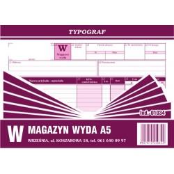 Druk W Magazyn Wyda A5 (01034)