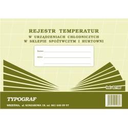 Druk Rejestr Temperatur w...