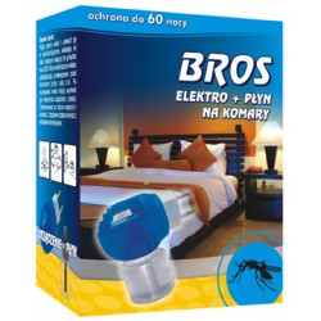 BROS Elektro + płyn na komary