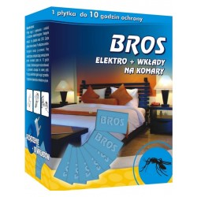 BROS Elektro + wkłady na...