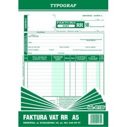 Druk Faktura VAT RR A5 (01135)