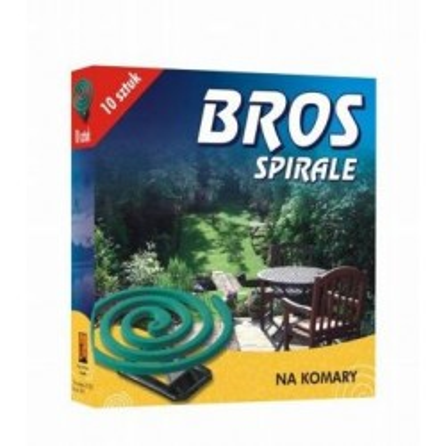 BROS Spirale na komary 10szt