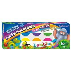 Farby plakatowe BAMBINO 10...