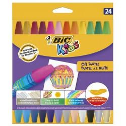 Pastele olejne BIC 24 kolory