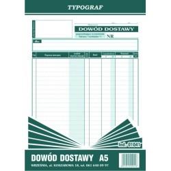 Druk Dowód Dostawy A5 (01041)