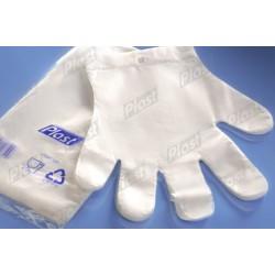 Rękawice foliowe PLAST  L...