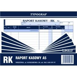 Druk RK Raport Kasowy A5...