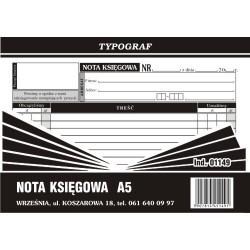Druk Nota Księgowa A5 (01149)
