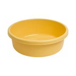 Miska okrągła 18l - żółta
