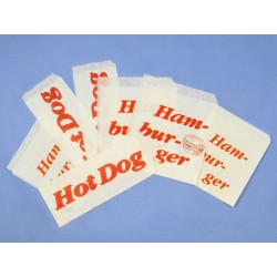 Torebka papierowa HOT DOG...