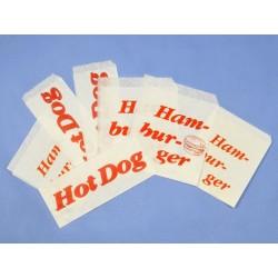 Torebka papierowa HAMBURGER...