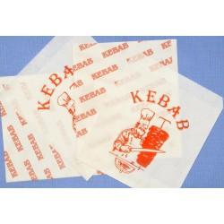 Torebka papierowa KEBAB 250szt
